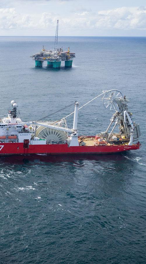 Nova subsea pipelines installed in Norway | Wintershall Dea GmbH
