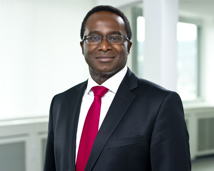 Head of Business Unit Germany-Hamburg Robert Frimpong