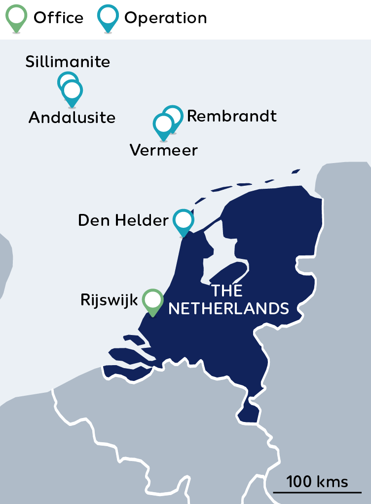 Wintershall Dea Map Netherlands
