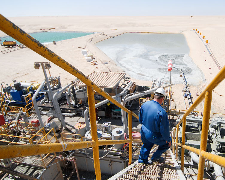 Wintershall Dea Production Site Libya
