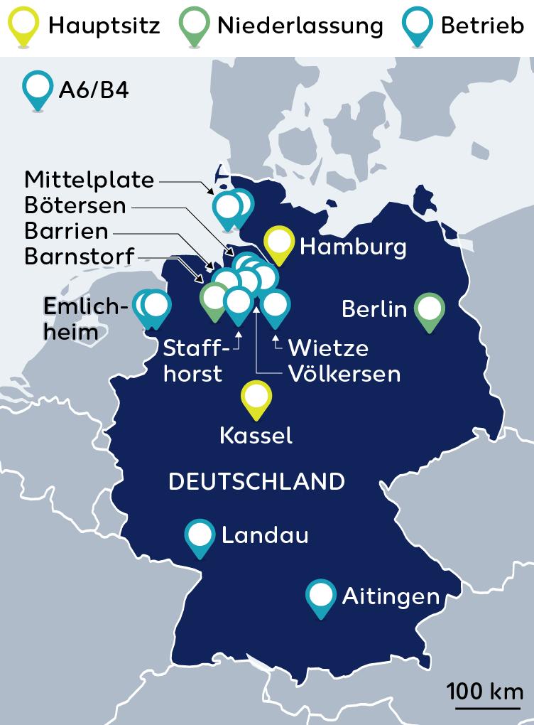Nordsee Karte Niedersachsen.Deutschland Wintershall Dea Gmbh