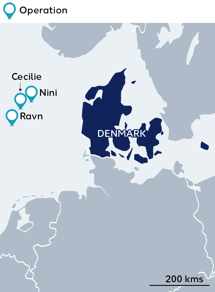 Wintershall Dea Map Denmark