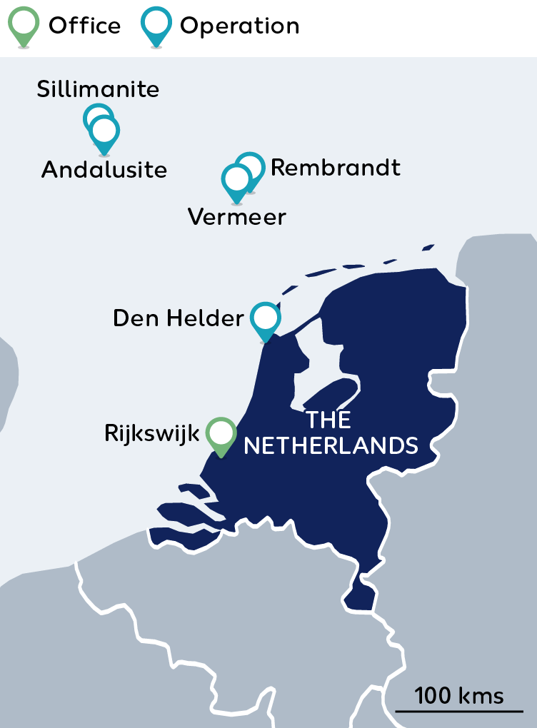 Wintershall Dea Map The Netherlands
