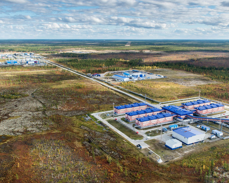 Wintershall Dea Production Site Yuzhno Russkoye