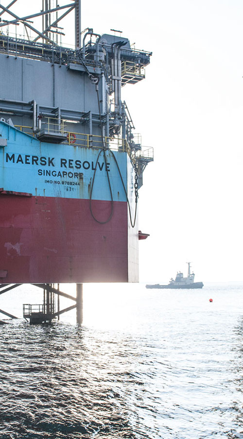 Wintershall Dea Dänemark Maersk Resolve