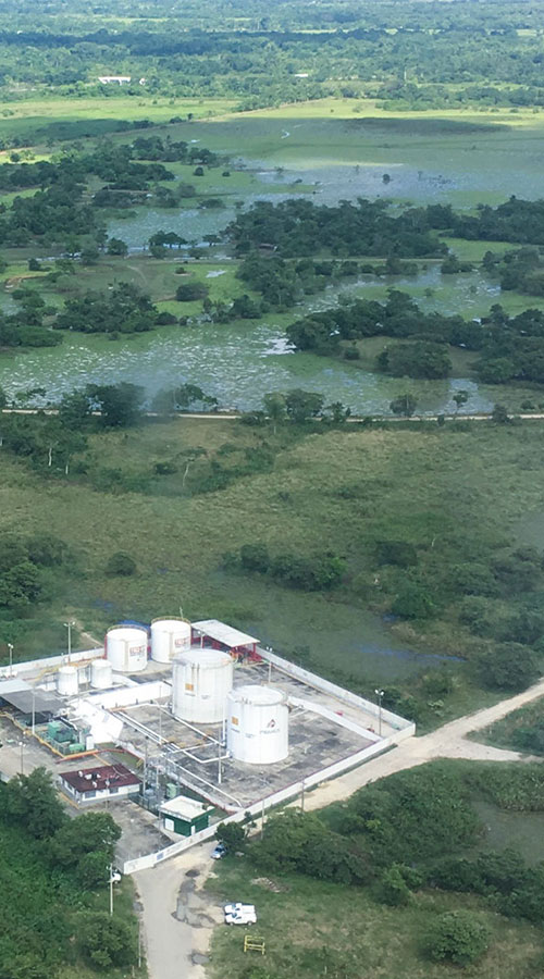 Wintershall Dea Production Site Ogarrio Mexico