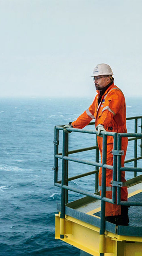 Wintershall Dea Offshore Plattform