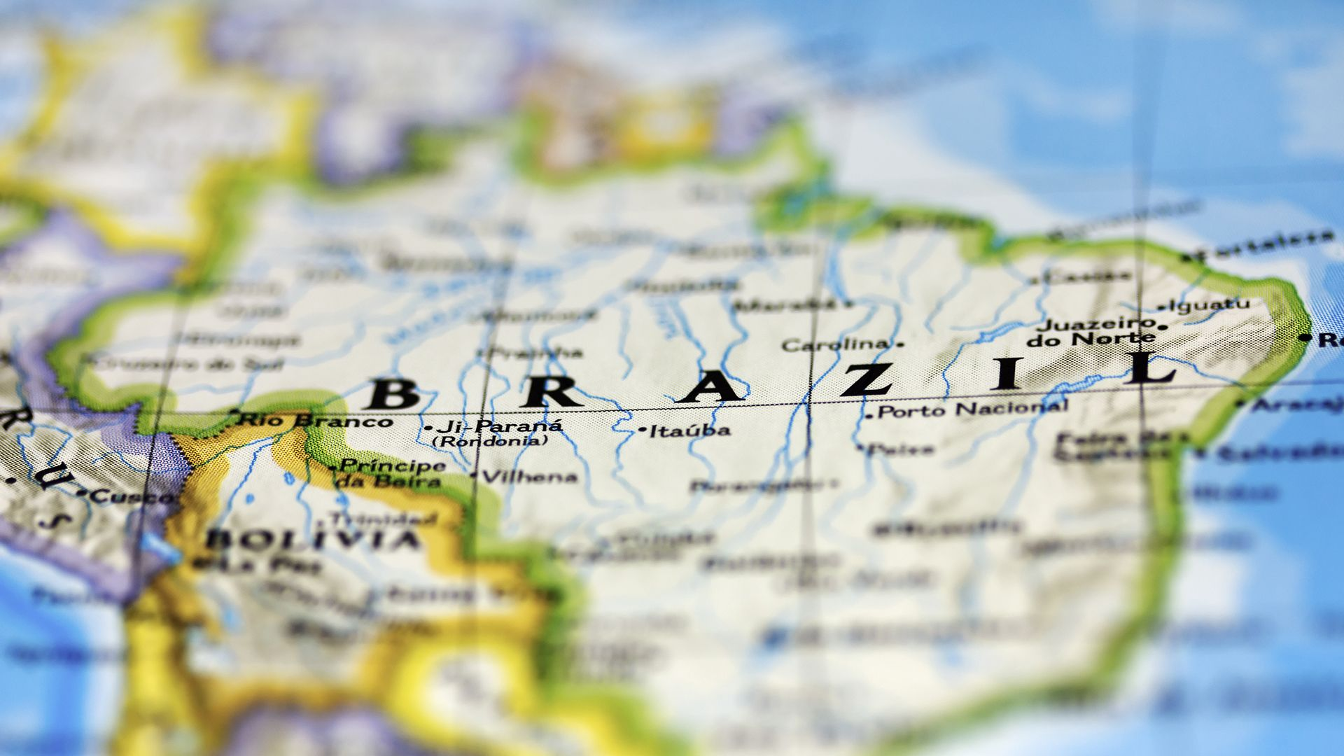 Wintershall Dea License Map Brazil