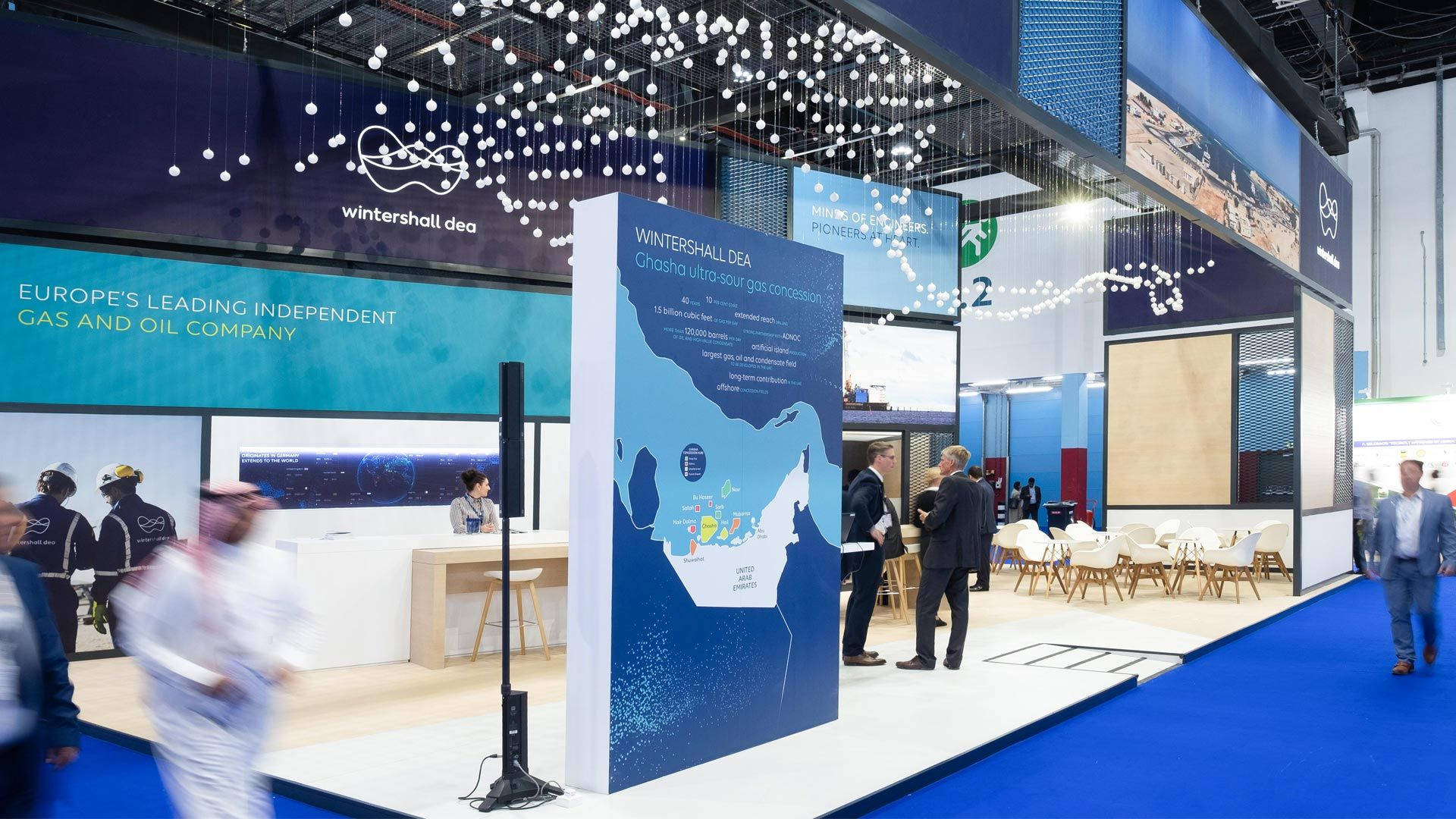Wintershall Dea at ADIPEC 2019