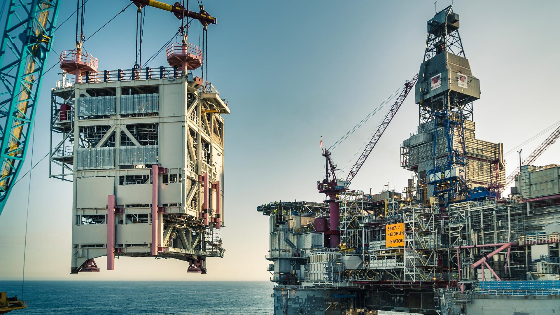 Wintershall Dea Offshore Production Site