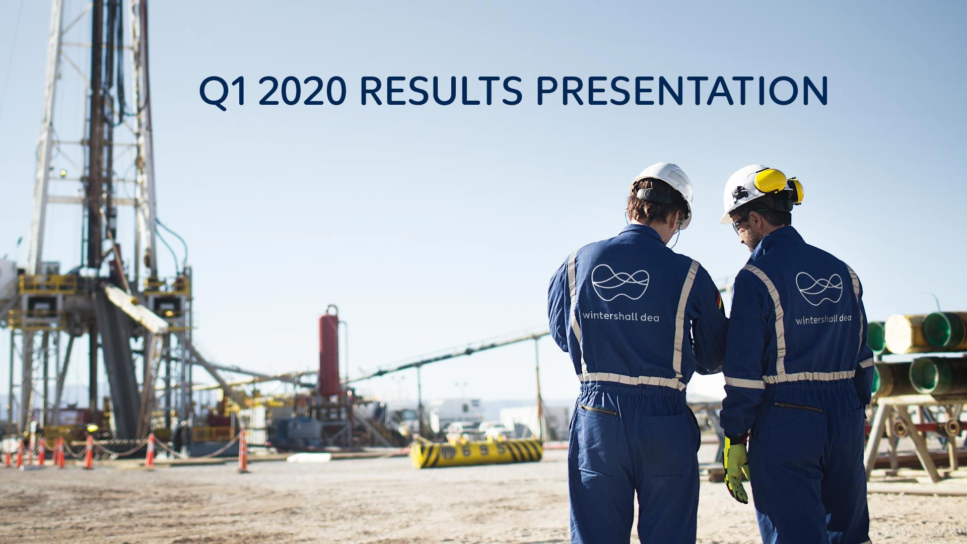 Wintershall Dea presentation results Q1